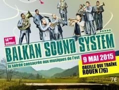 Affiche 5 ans de La Sauce Balkanique BD